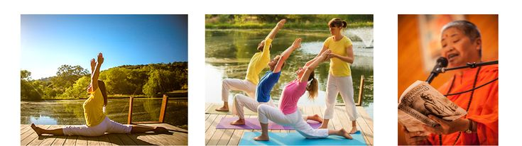 The Sivananda yoga teacher training courses are offered 3 months out of the year in May, October, and December.