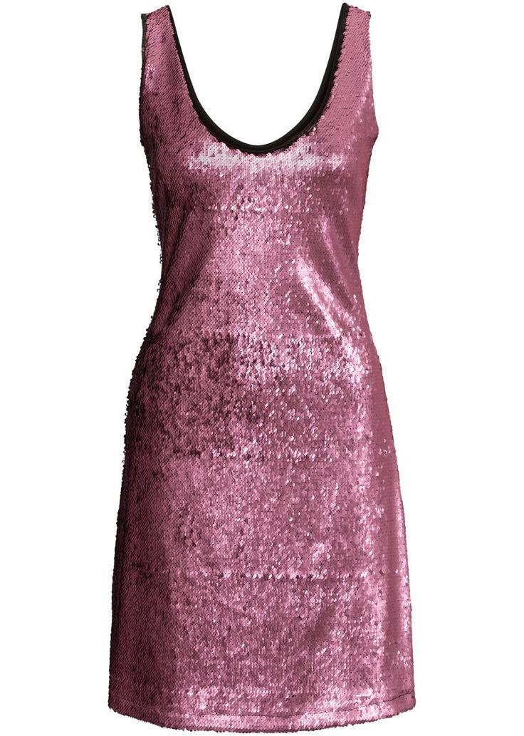 Sukienka z cekinami Świetna na każde • 189.99 zł • bonprix