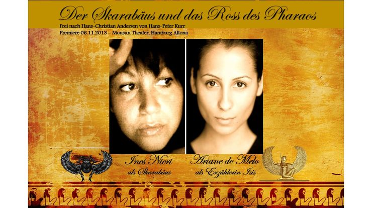 Mit Ariane de Melo & Ines Nieri  Frei nach Hans-Christian Andersen von Hans-Peter Kurr. Premiere am 06.11.2013 um 20:00Uhr im Monsun Theater, Hamburg Altona. Mehr Infos auf Facebook: https://www.facebook.com/events/687990824563820/?notif_t=plan_user_invited  http://www.ariane-de-melo.com/ http://www.ines-nieri.de/