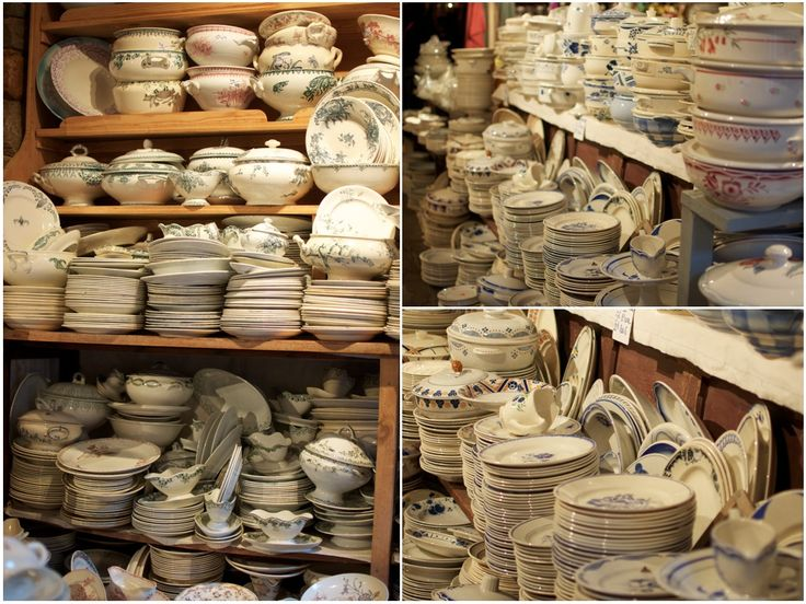 now THIS is a tableware shop!! Fabulous post about a wonderful corner of France and this gem of a shop!
