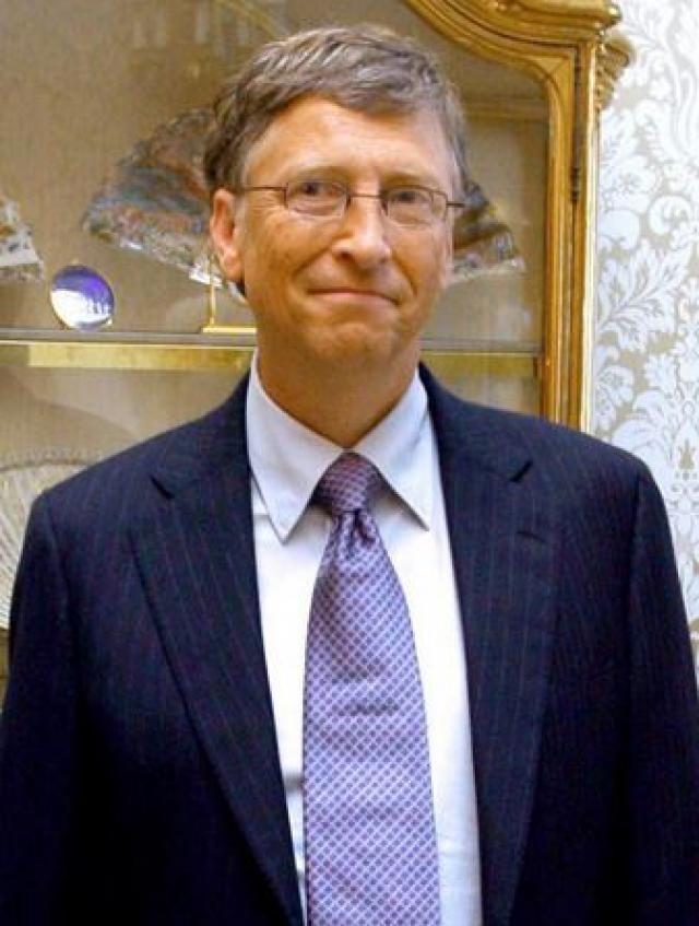 Bill Gates : William Henry Gates  Bill Gates : William Henry Gates, popularmente conocido como Bill Gates , es el co-fundador de Microsoft, la mayor compañía de software del mundo por ventas. El hombre más rico de América y su mayor vida filántropo posee alrededor del 6 por ciento del gigante de la tecnología, una participación
