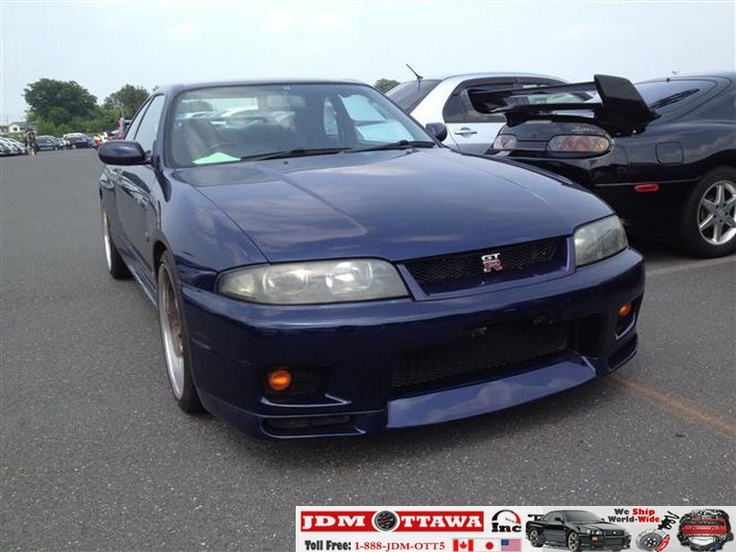 Car Dealers Toronto >> JDM Nissan Skyline GTR R33 VSpec, RB26DETT, In Transit to Toronto, Very clean Import | JDM ...