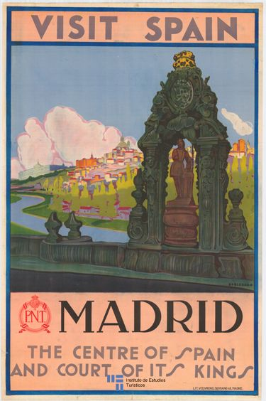 Madrid, España, why not?  I need this poster! Where can I find it?