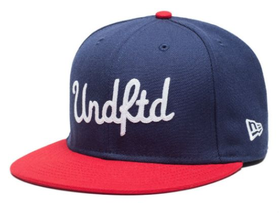 UNDFTD x NEW ERA「Chainstitch」59Fifty Fitted Baseball Cap | Strictly Fitteds