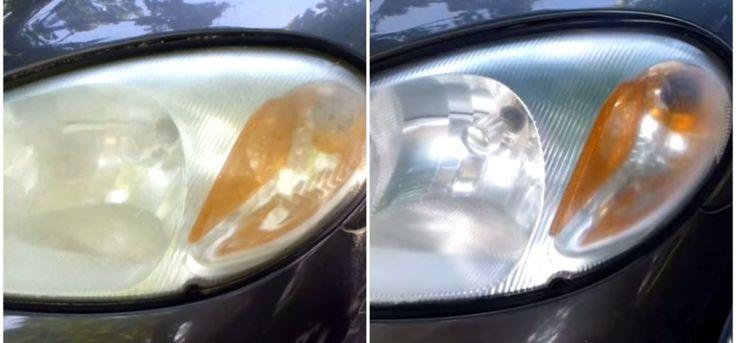 headlights | Simple Trick for Restoring Car Headlights