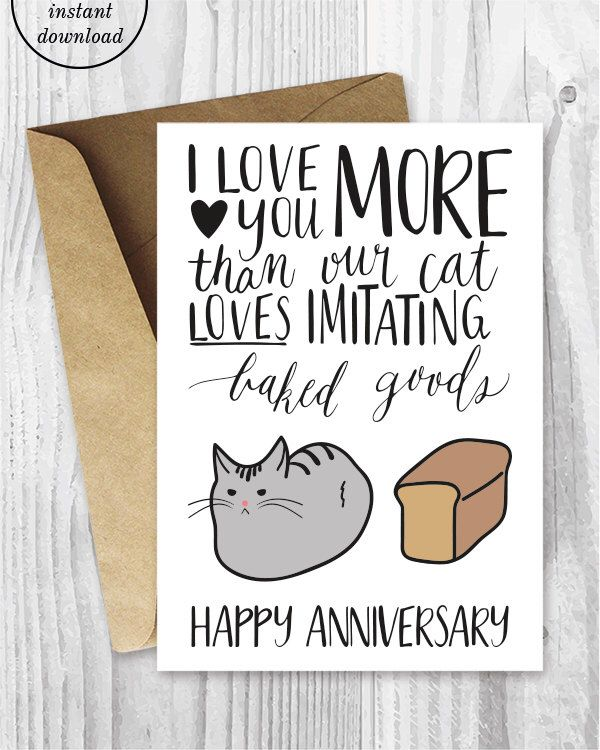 Best 25+ Printable Anniversary Cards Ideas Only On Pinterest