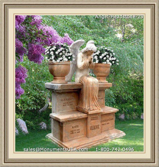 Angel Headstone 29 Angel Headstones Granite Headstone