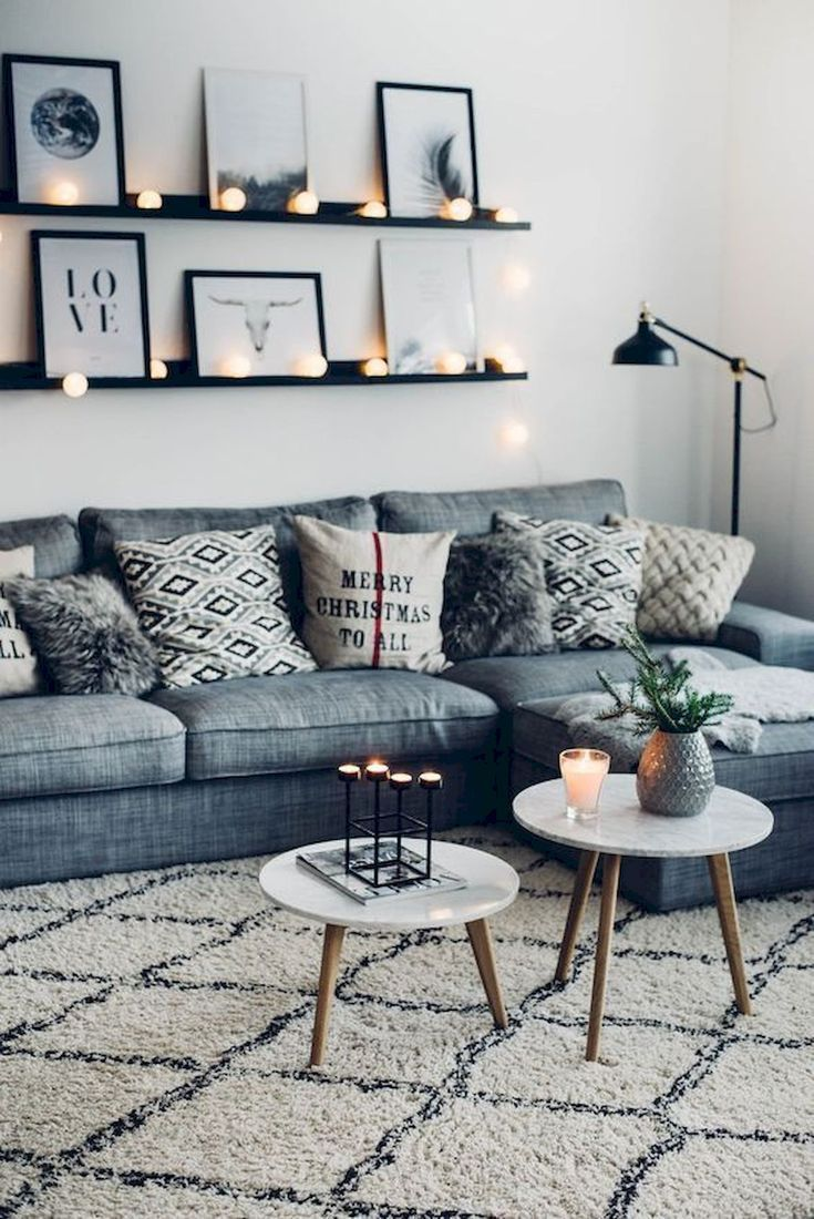 57 Gemütliches Wohnzimmer Apartment Dekor Ideen – LavonneVillasenoth