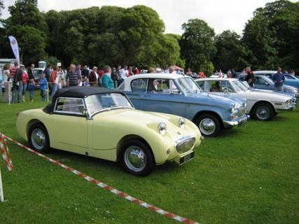1959 Austin Healey MKI (also know as the Frogeye) Sprite #VCI #vintagecars #classiccars