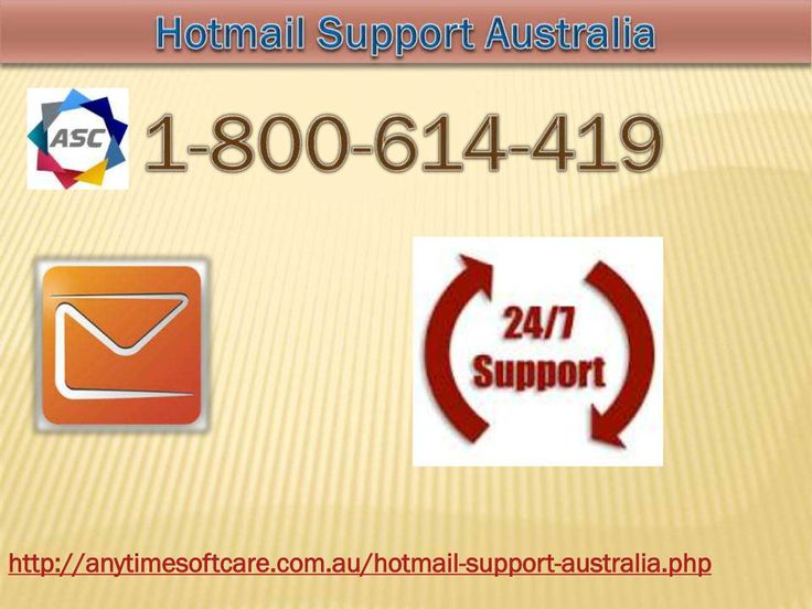 Dial 1-800-614-419 for Outstanding Hotmail Support Australia  If you are the Hotmail users there may be numerous issues you face while accessing it. Maybe it some basic issues or more than common problems? With Hotmail Support Australia you can get no room of glitches, snags or technical hurdles that are blocking your way. Be at ease and leave your tension behind toll-free no.1-800-614-419for undoubtedly the most accurate and timely solution . For more Hotmail support visit our site…
