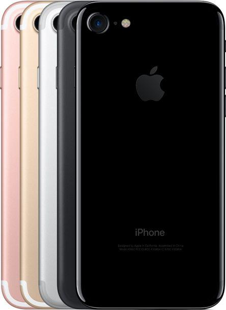 Iphone 7 en plusieurs coloris Rose doré noir et rose