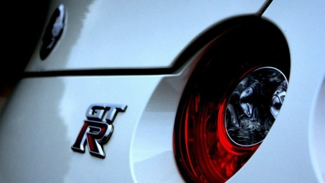 Nissan GTR Price - The taillights of a Nissan GTR