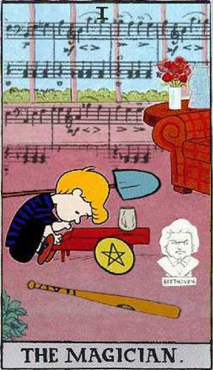 Peanuts Tarot: Snoopy, Charlie Brown, and the gang | Scribd