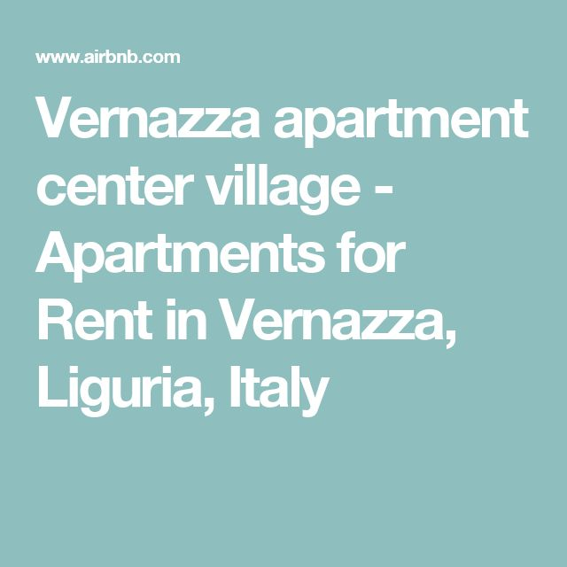 Vernazza apartment center village - Apartments for Rent in Vernazza, Liguria, Italy