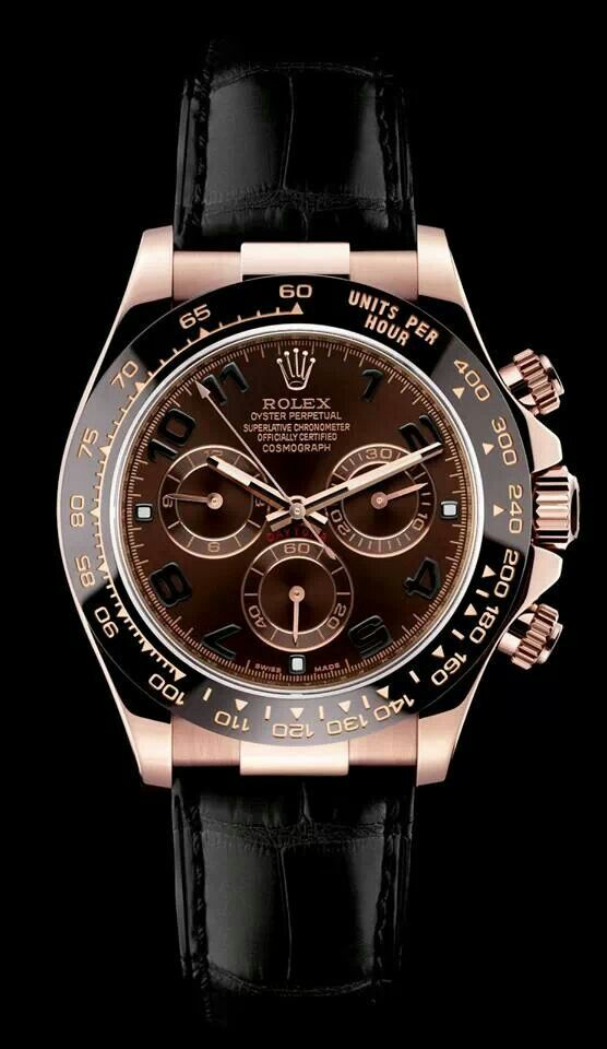 Love it!! Rolex Daytona (in Rose Gold / Black) DISCOUNT TO: HK$162,000.