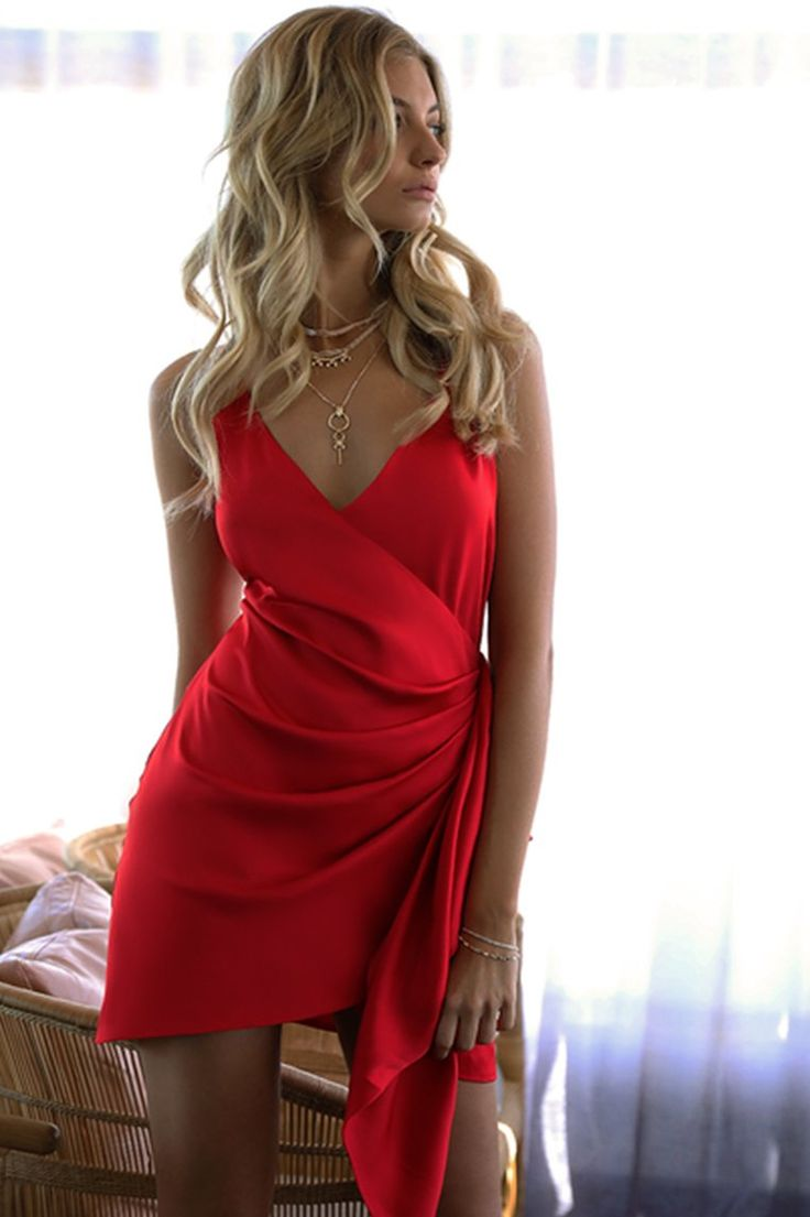 Runaway The Label - Sublime Dress - Red