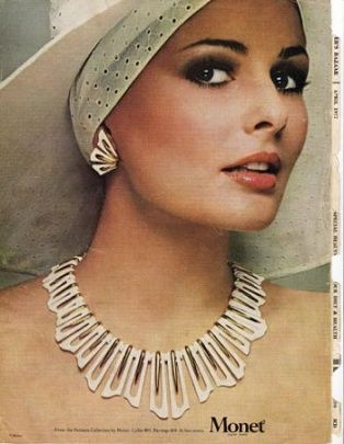 Gallery of Vintage Costume Jewelry Ads