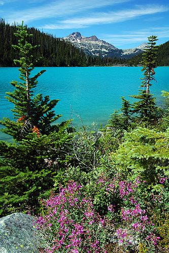 Squamish-Lillooet, BC | Upper Joffre Lake by LiefPhotos, via Flickr