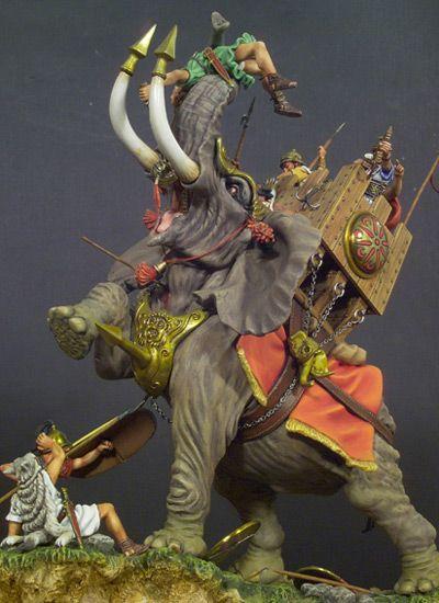 Carthaginian War Elephant, Zama 202 BC