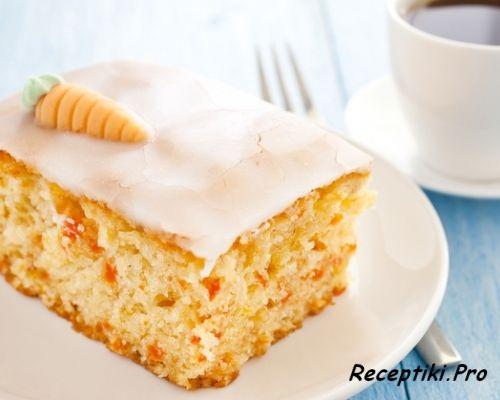 Постные блюда: морковный пирог