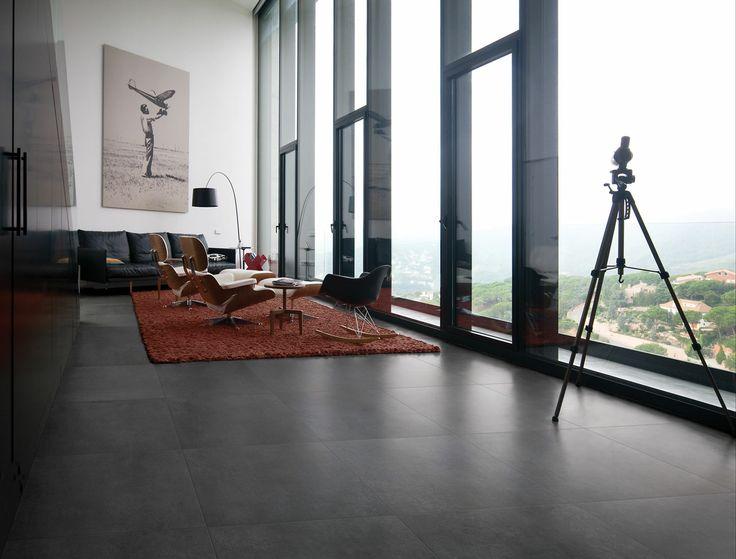 Talm Carrelage Sol Et Mur Aspect Ciment Pour Interieur Decoration Maison Carrelage Et Carrelage Salon