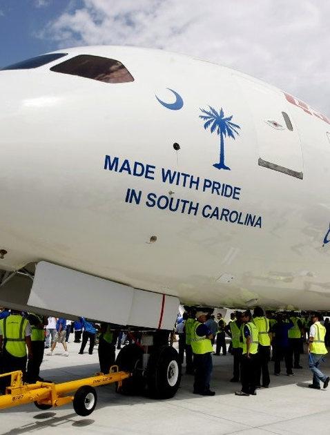 Boeing investing $1 billion, bringing 2000 jobs to North Charleston, South Carolina  http://jobs-boeing.com/South-Carolina-jobs