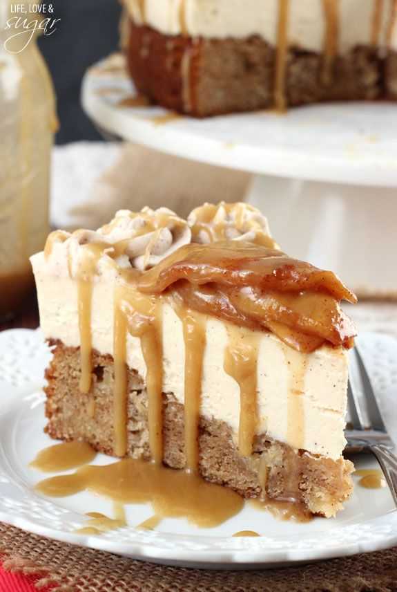 This rich and delicious caramel apple cheesecake with a blondie crust is all the rave this season. Head over to an apple orchard this autumn and pick up some apples for this yummy recipe!