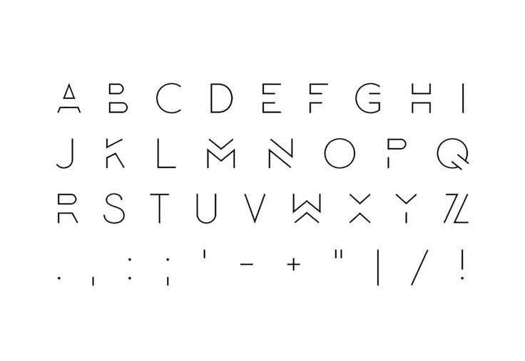 Отличные шрифты для создания логотипов и не только за июнь 2015 | Beloweb.ru