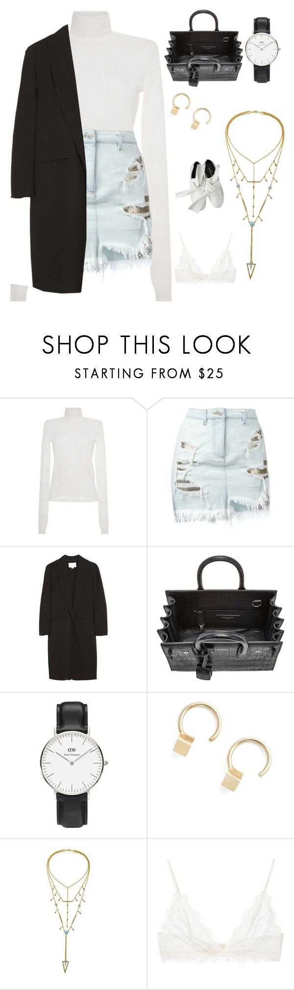 """Untitled #9161"" by tatyanaoliveiratatiana ❤ liked on Polyvore featuring MSGM, Versus, Alexander Wang, Yves Saint Laurent, Daniel Wellington, Julien David, Anine Bing, Comme des Garçons, men's fashion and menswear"