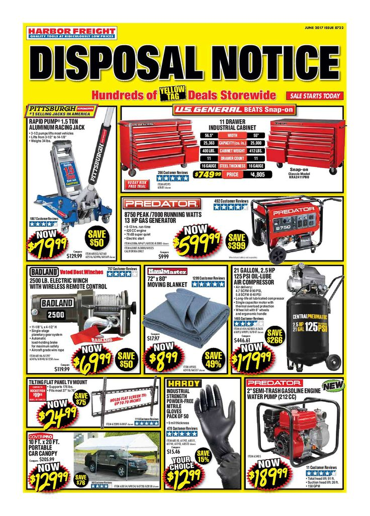 Harbor Freight Tools Monthly Ad June 2017 - http://www.olcatalog.com/harbor-freight-tools/harbor-freight-tools-weekly-flyer.html