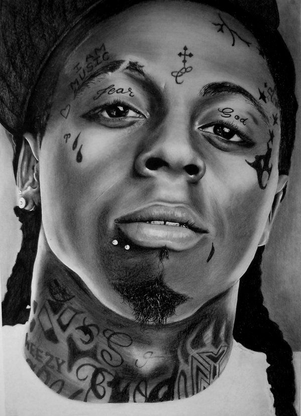 Lil Wayne - Dwayne Michael Carter by SarahFinnegan.deviantart.com