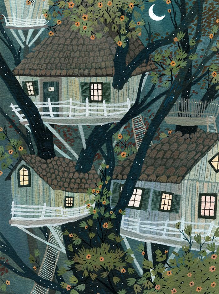 Becca Stadtlander - treehouses