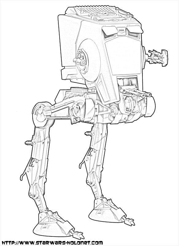 Dessin à colorier: Star Wars (Films) #47 - Coloriages à imprimer   LineArt: Star Wars   Pinterest