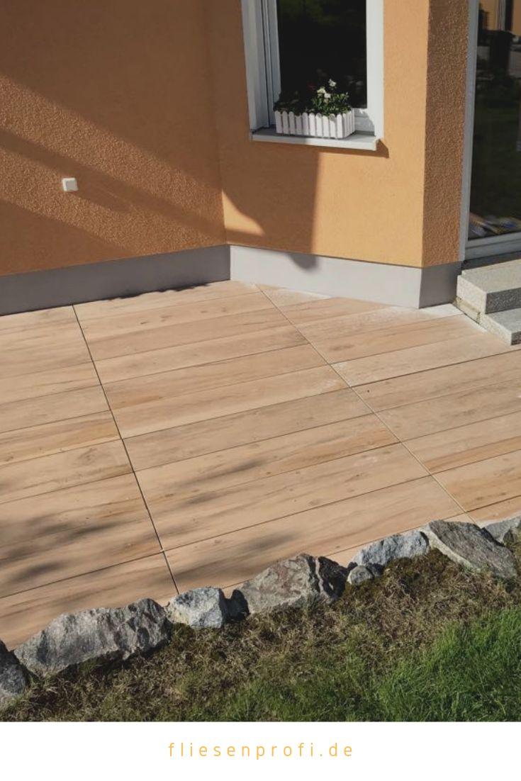"Terrassenplatten Holzoptik Eiche ""Etic Pro"" Großformat 30x120x2cm"