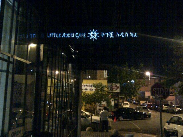 Little Addis Café in EGoli, IGauteng
