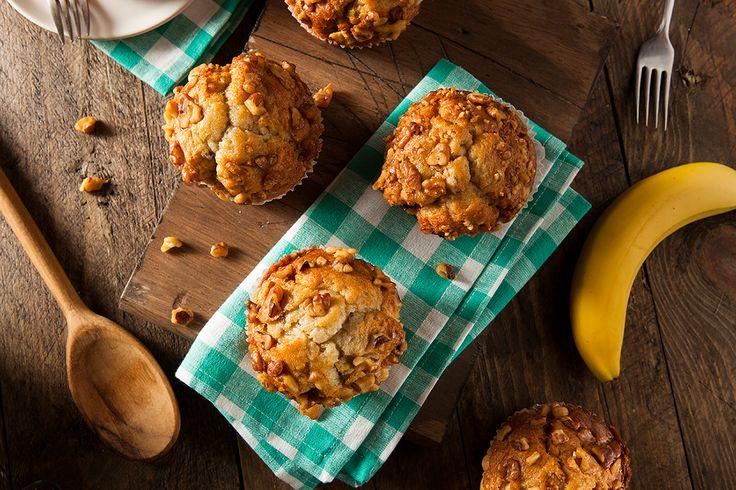 Cupcakes cu mar, banana si quinoa: mic-dejun sanatos si dulce