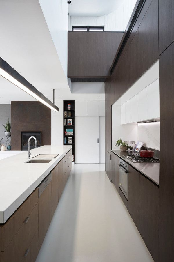 #Open design with tall ceilings and #modern space in this beautiful kitchen