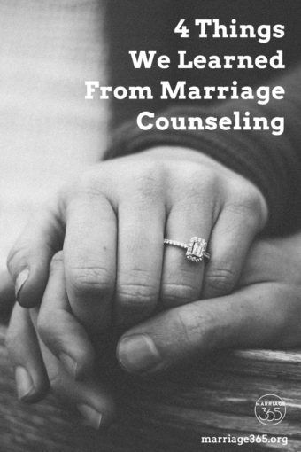 4 Things We Learned From Marriage Counseling