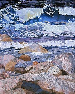 Amanda Richardson Textile Seascape