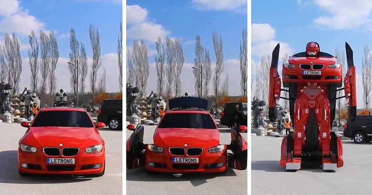 Turkish Engineers Just Made A Real-Life Driveable BMW Transformer (Video) | Bored Panda