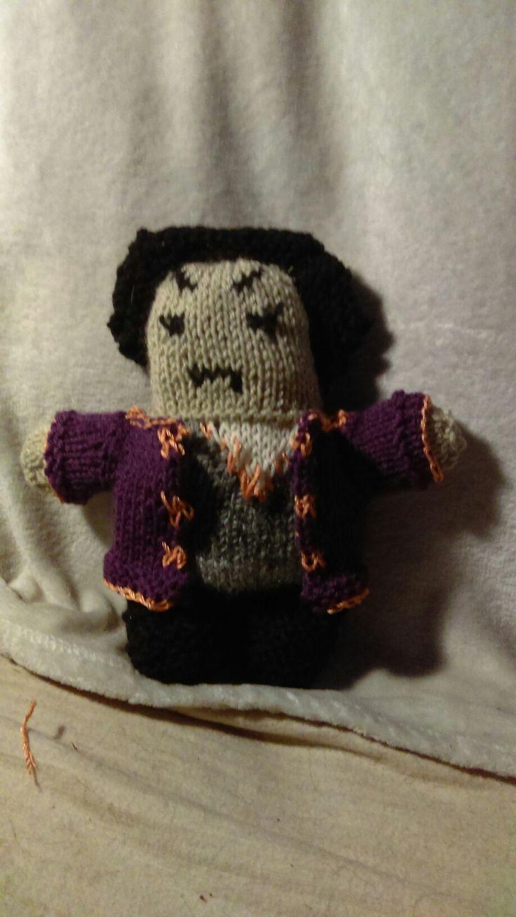Ambassador Londo Mollari. Handmade knitted doll.