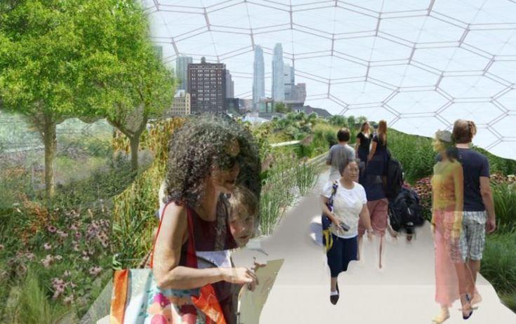 U wybrzeża Nowego Jorku będzie pływać ogród | Miasto2077