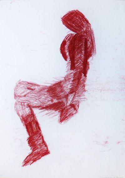 Catarina Costa : Sanguínea s/ papel, 594 x 420 mm