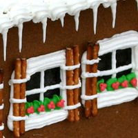 Tips for gingerbread houses--can't emphasize enough to spread the work out over several days or weeks.