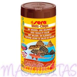 sera Wels-Chips. Los chips para siluros raspadores.