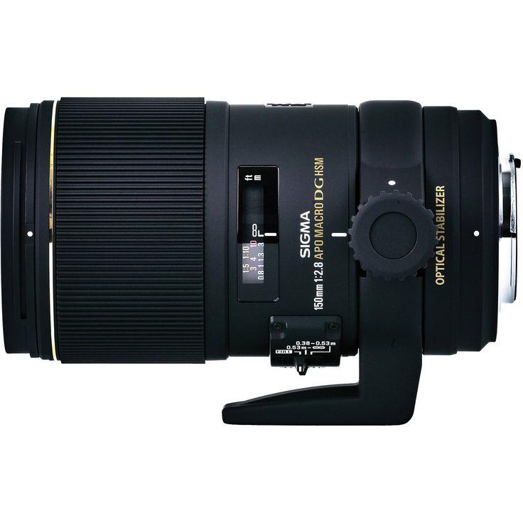 Sigma 150mm f/2.8 EX DG OS HSM APO Macro Lens