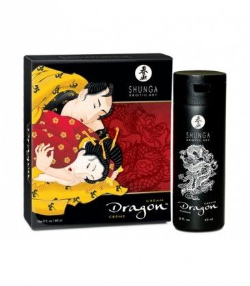Dragon Virility Cream - Shunga. An incredible cream that gives ultimate performance for him and amazing orgasms for her. R585.00