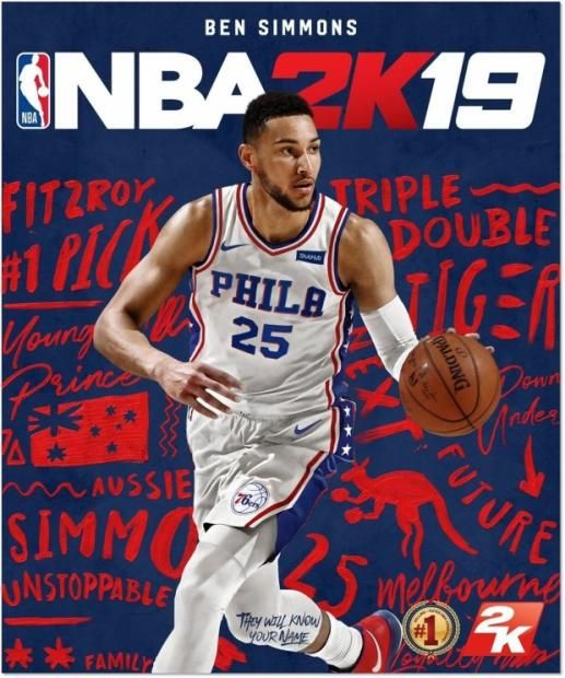 24d47fc48 Ben Simmons to feature on the cover of NBA 2K19 in Australia  Ben Simmons  to feature on the cover of NBA 2K19 in Australia