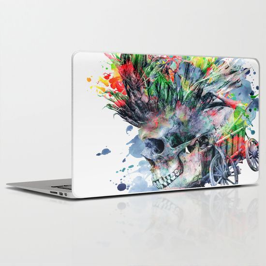 Buy COLORFUL SKULL by RIZA PEKER as a high quality Laptop & iPad Skin. Worldwide shipping available at Society6.com. Just one of millions of products available.