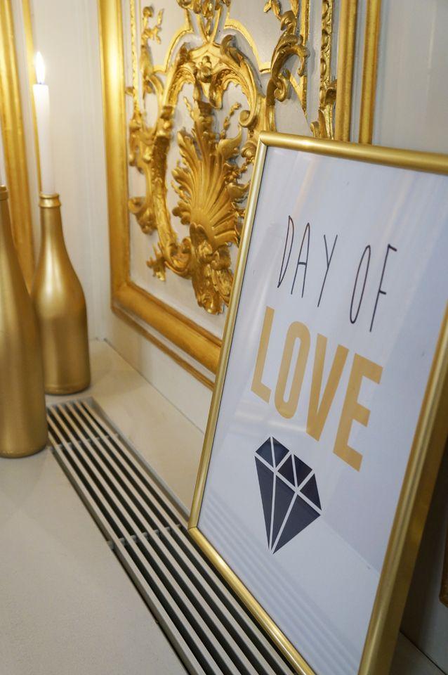 Mariage Art Deco - Navy & Gold - Dessine-moi une etoile